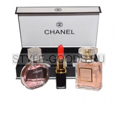 """Подарочный набор """"Chanel 3 в 1"""""""