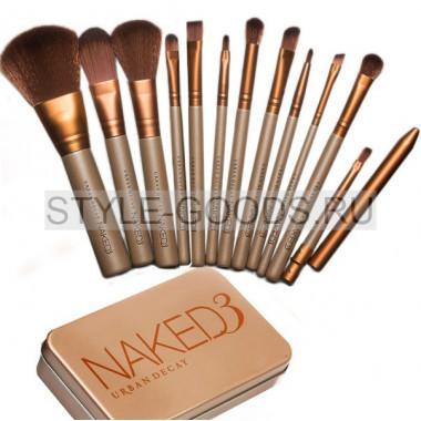 Набор кисточек для макияжа NAKED 3 (12 шт.)