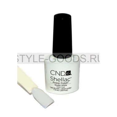 Лак для ногтей CND Shellac Studio White