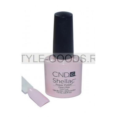 Лак для ногтей CND Shellac Cleary Pink