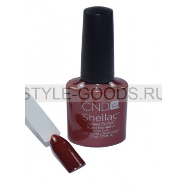 Лак для ногтей CND Shellac Burnt Romance