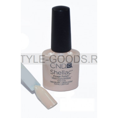Лак для ногтей CND Shellac Mint Bege