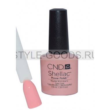 Лак для ногтей CND Shellac Nude Knickers