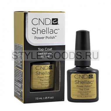 Топовое покрытие для ногтей CND Shellac (Топ)