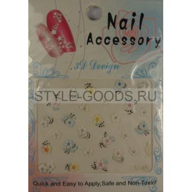 "Наклейки для ногтей ""3D Design Nail Accessory"""