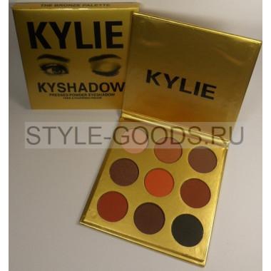 Тени Kylie KYSHADOW 9 цветов (золотые)