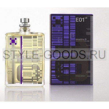 "E.Molecules ""Escentric 01-10 Limited Edition"", 100 мл"