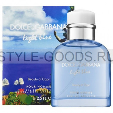 "D&G ""Light Blue Beauty of Capri"", 125 мл (м)"