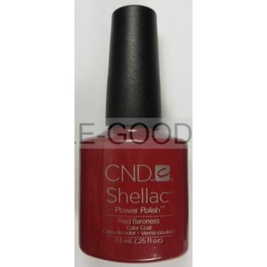 Лак для ногтей CND Shellac Red Baroness