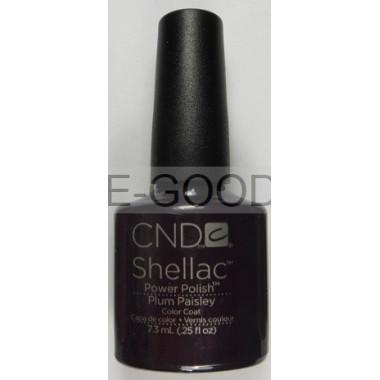 Лак для ногтей CND Shellac Plum Paisley