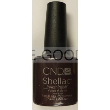 Лак для ногтей CND Shellac Vexed Violette