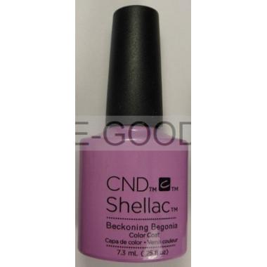 Лак для ногтей CND Shellac Beckoning Begonia