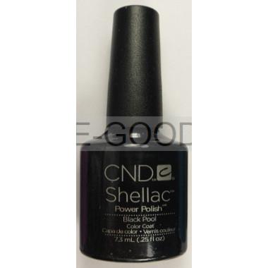 Лак для ногтей CND Shellac Black Pool