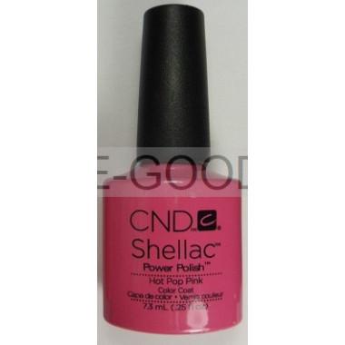 Лак для ногтей CND Shellac Hot Pop Pink