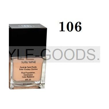 Тональный крем Chanel Sublimine, 75мл (№ 106)