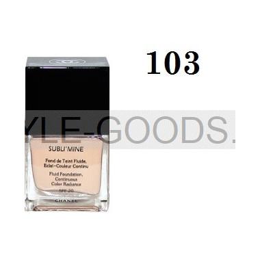 Тональный крем Chanel Sublimine, 75мл (№ 103)