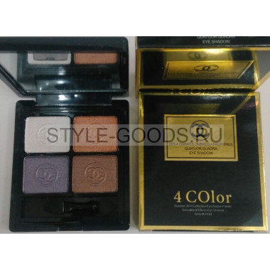 "Тени для век "" Chanel 4 COlor"" № 4"