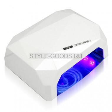 LED-CCFL лампа 36W с таймером (белая)