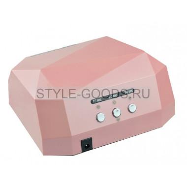 LED-CCFL лампа 36W с таймером (розовая)