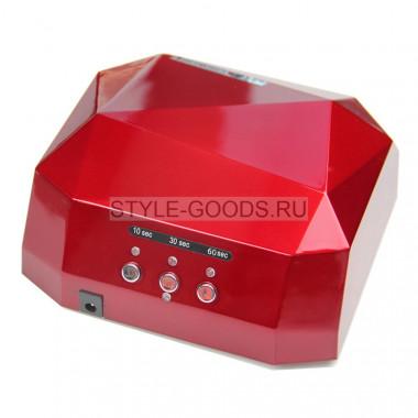 LED-CCFL лампа 36W с таймером (красная)