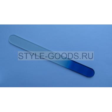 Пилка стеклянная ZINGER (синяя) 19.5 см