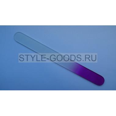 Пилка стеклянная ZINGER (фиолетовая) 19.5 см