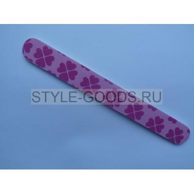 Пилка шлифовальная ZINGER 18 см (розовая)