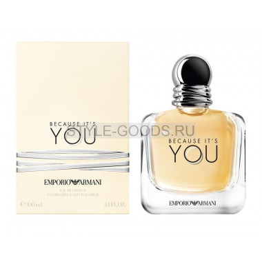 G.Armani Emporio Because It`s You, 100 мл (ж)