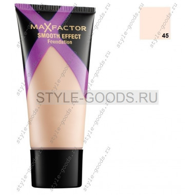 MAXFACTOR SMOOTH EFFECT, 30 мл № 45