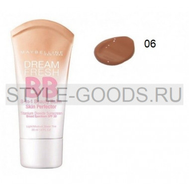 "Maybelline ""Dream Fresh BB 8-в-1"", 30 мл № 06"