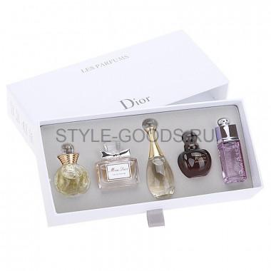 """Подарочный набор """"Dior Les Parfums"""" 5 х 5 мл"""