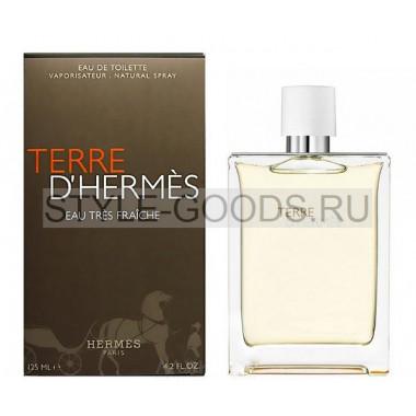 "Hermes ""Terre d`Hermes eau Tres Fraiche"", 125 мл"