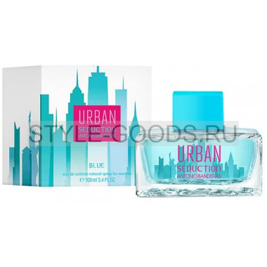 Antonio Banderas Urban Blue Seduction, 100 мл (ж)
