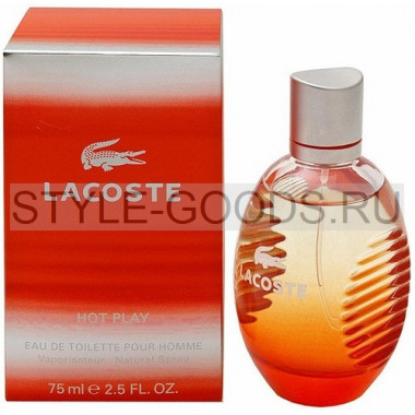 "Lacoste ""Hot Play"", 75 мл (м)"