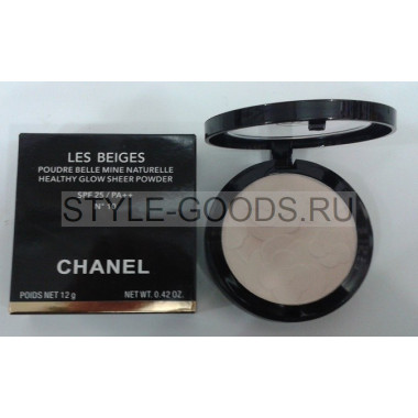 Пудра для лица Chanel Les Beiges SPF 25, 12 г