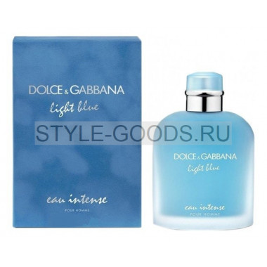 "D&G ""Light Blue eau Intense"", 125 мл (м)"