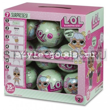 Набор кукол LOL Surprise (ЛОЛ Сюрприз) 18 шт.