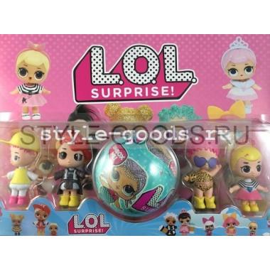 Кукла LOL Surprise на блистере